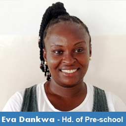 Eva Dankwah - Head of Primary School