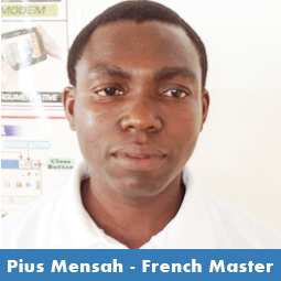 Pius Mensah - French Teacher